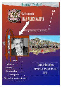 Cartel-Alternativa a los problemas de Asturias-Orviz-2013