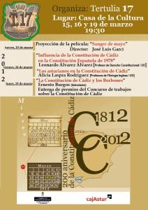 Cartel-Influencia de la Constitución de Cadiz-2012