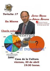 Cartel- La energia, un sector en transición-Javier Saez de Jubera