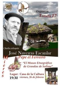 Cartel-Pepe el Ferreiro-Museo Etnográfico de Grandas de Salime-