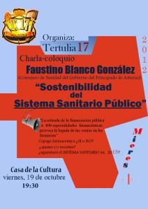 Cartel-Sostenibilidad del Sistema Sanitario Público-2012