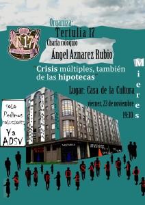 Cartel-Stop desahucios-Ángel Aznarez Rubio