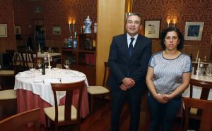 José y Ana en El Cenador del Azul